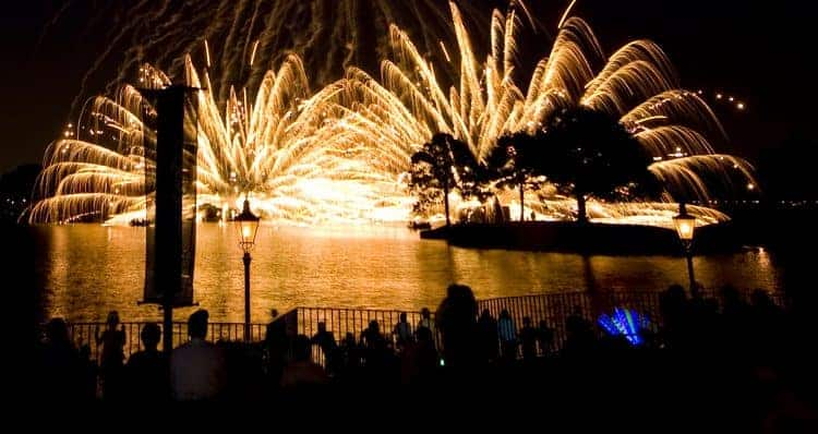 Disney World Fireworks with a View 3
