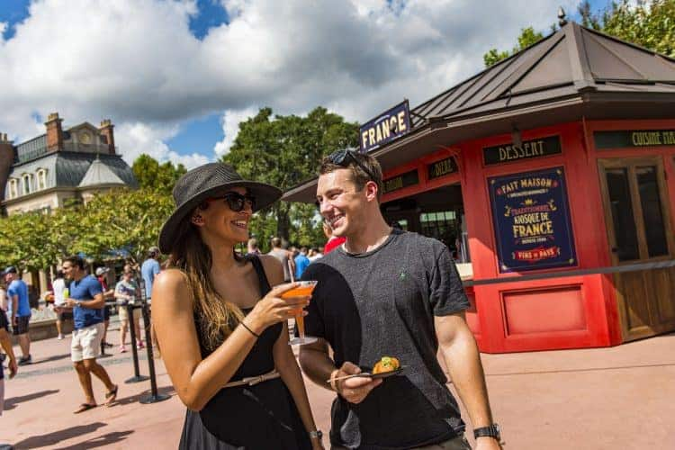 epcot drinks around the world