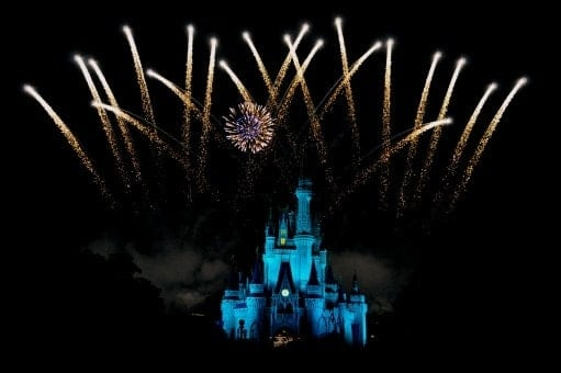Disney World Fireworks with a View 6