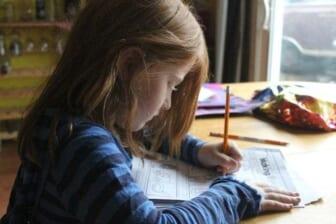 elementary school homework