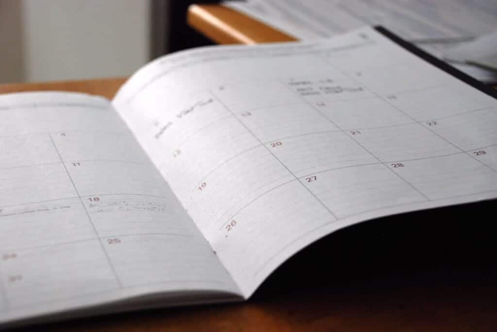 a daily class planner