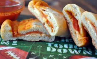 Mini Pizza Pocket Super Bowl Snacks 1