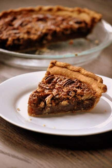 Southern Style Pecan Pie 1