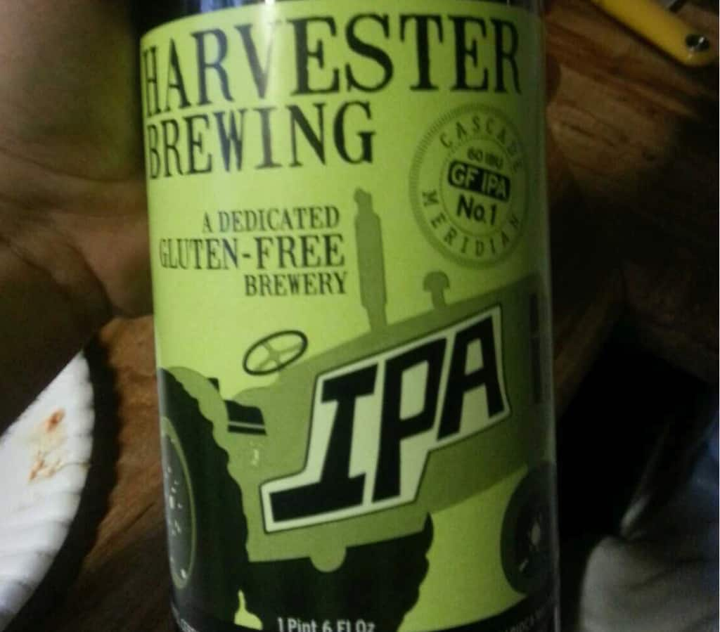 Harvester Brewing IPA No.1