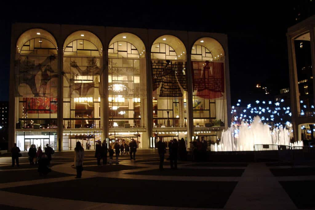 Metropolitan Opera House - Staycation New York City destination