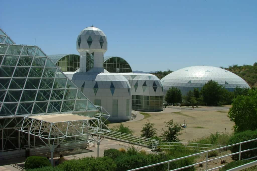 Staycation ideas in Tucson - Biosphere 2