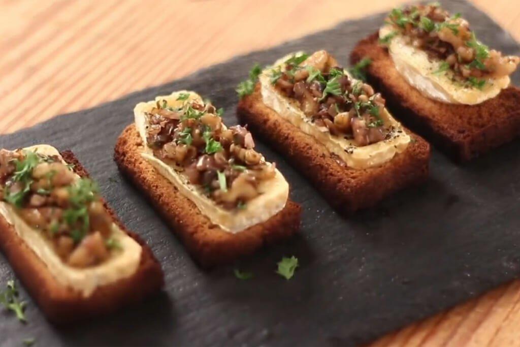 Cheese Crostini Recipe