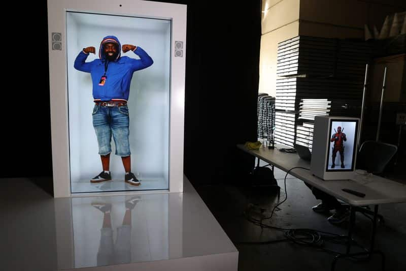 Tired of Zoom calls? Company offers at-home hologram machines 1