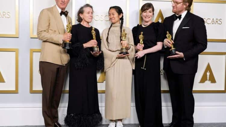 Reinvented Oscars Hands 'Nomadland' Win on Diversity-Packed Night 2