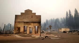 Wildfire Leaves Historic, 'Quirky' California Town in Smoldering Ruins 3