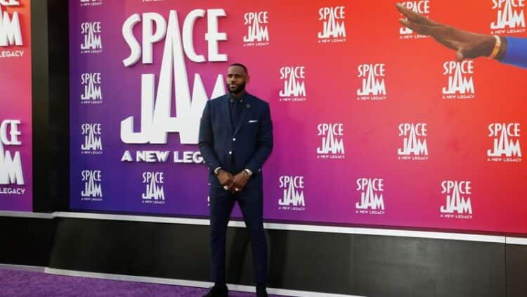 LeBron 'extremely nervous' about living up to Jordan in Space Jam sequel 6