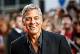 George Clooney and Friends Open Technical School in Los Angeles, CA 2